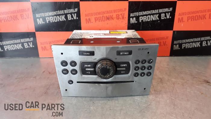 Radio CD Speler - Opel Corsa - O33894