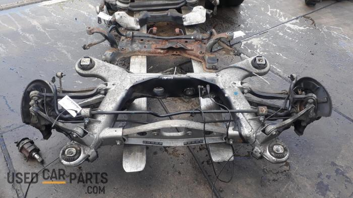 Achteras achterwielaandrijving - Mercedes CLS-Klasse - O48232