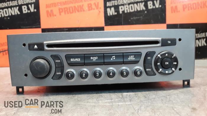 Radio CD Speler - Peugeot 308 - O33944