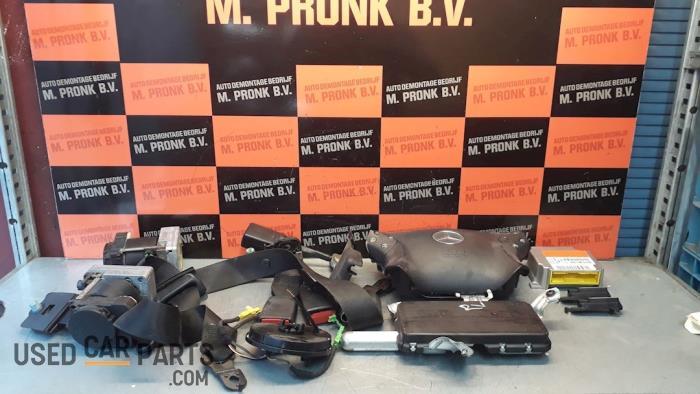 Airbag Set+Module - Mercedes C-Klasse - O50609