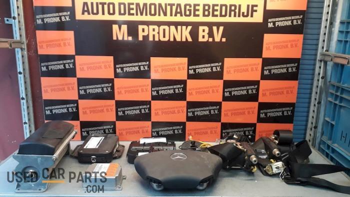 Airbag Set+Module - Mercedes ML-Klasse - O50620