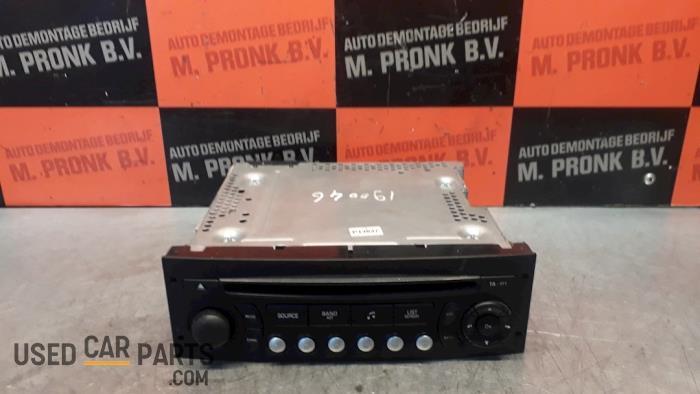Radio CD Speler - Peugeot Partner - O50823