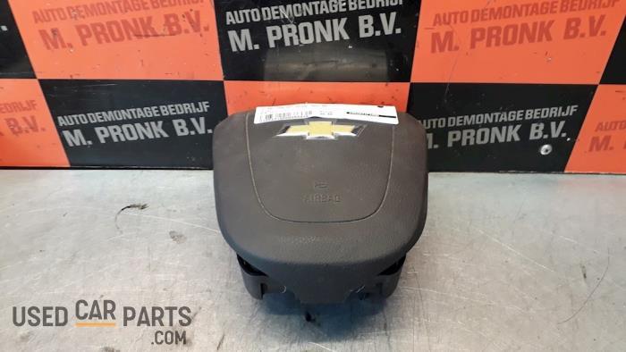 Left airbag (steering wheel) - Chevrolet Aveo - O50834