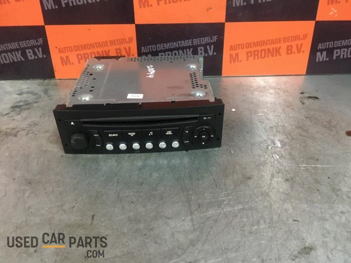 Radio CD Speler - Peugeot Partner - O52271