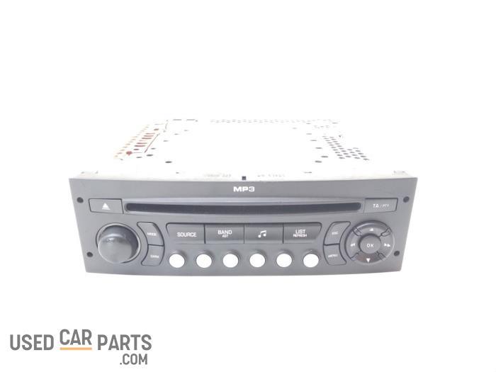 Radio CD Speler - Peugeot 207 - O53780