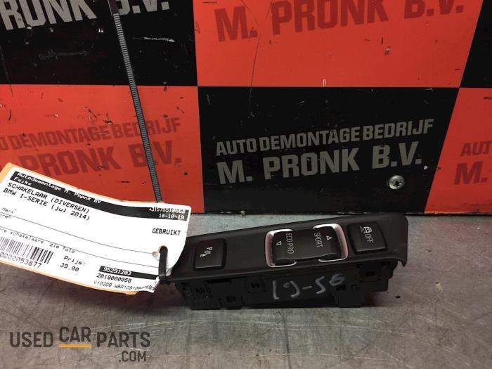 Schakelaar (diversen) - BMW 1-Serie - O53877