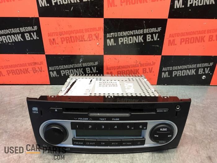 Radio CD Speler - Mitsubishi Colt - O54430
