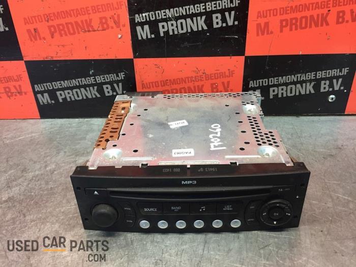 Radio CD Speler - Peugeot 207 - O54717