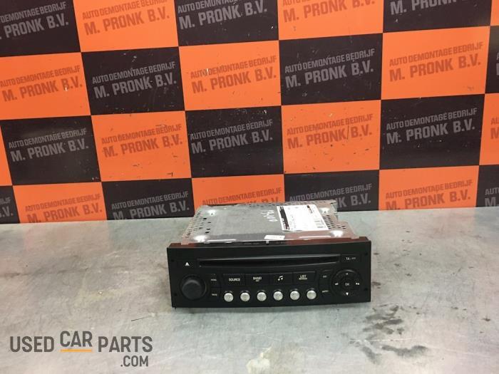 Radio CD Speler - Citroen C4 Picasso - O59043
