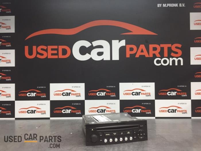 Radio CD Speler - Peugeot Partner - O70116