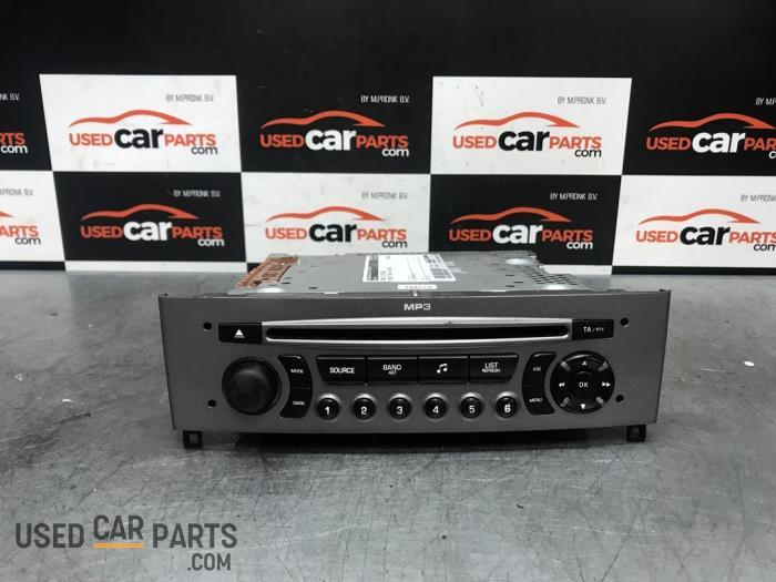 Radio CD Speler - Peugeot 308 - O72587