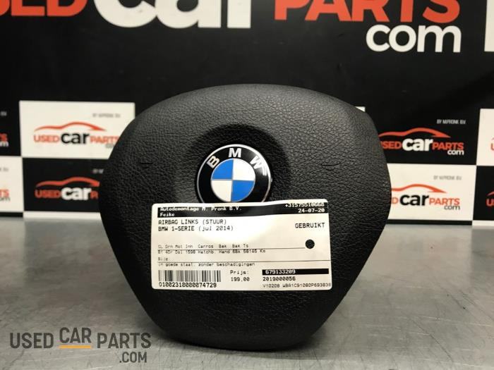 Airbag links (Stuur) - BMW 1-Serie - O74729