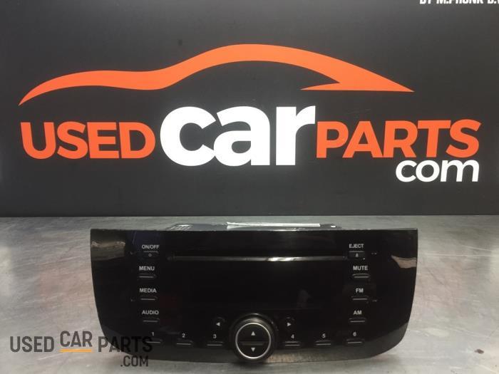 Radio CD Speler - Fiat Punto Evo - O88303