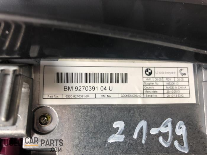 Navigatie Display - BMW 1-Serie - O90863