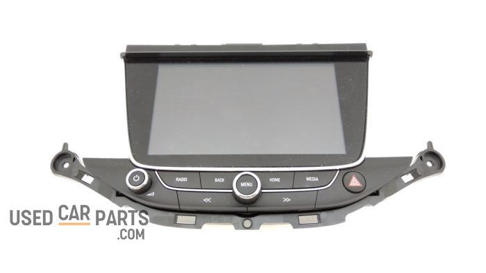 Display Multi Media regelunit - Opel Astra - O95826
