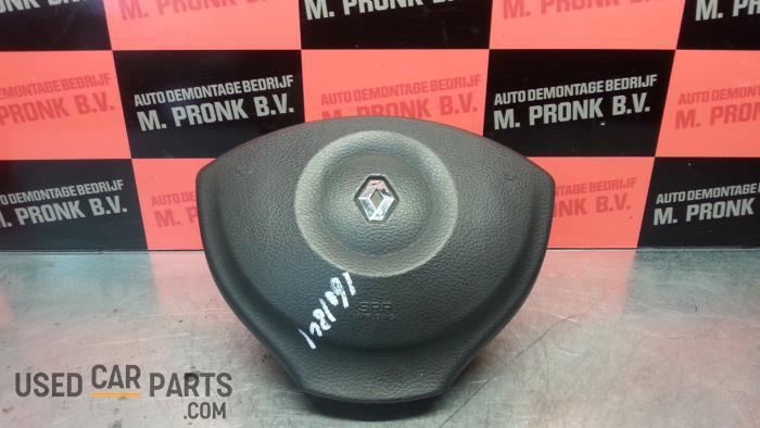 Left airbag (steering wheel) - Renault Modus - O39333