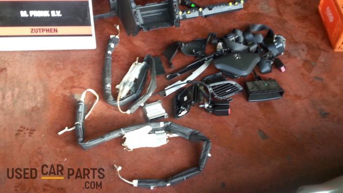Airbag Set+Module - Peugeot 207 - O39458