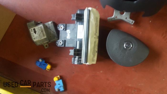 Airbag Set+Module - Opel Tigra - O39435