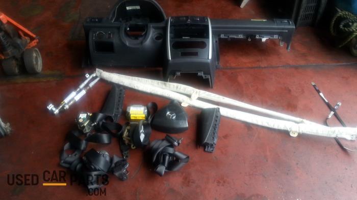 Airbag Set+Module - Mercedes A-Klasse - O39429