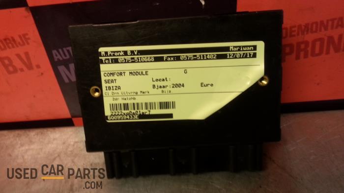 Comfort Module - Seat Ibiza - O26624