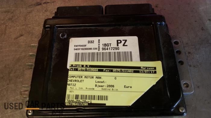 Computer Motormanagement - Chevrolet Matiz - O41519
