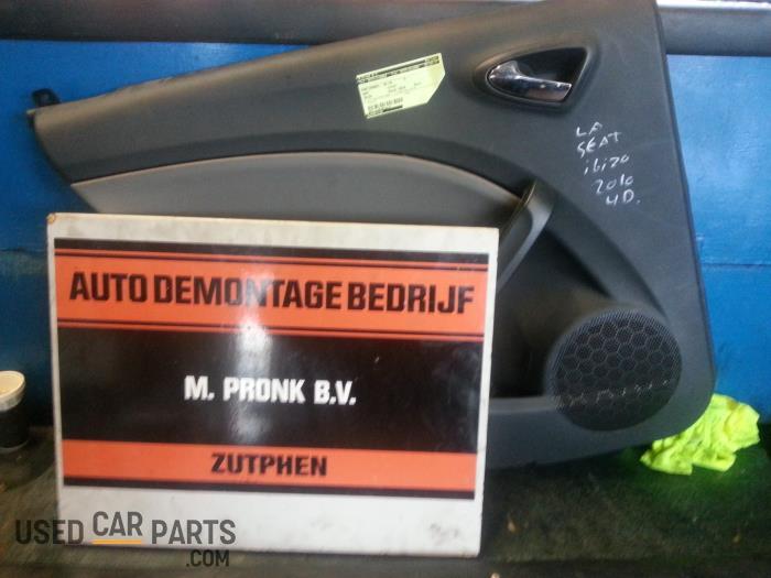 Portierbekleding 4Deurs links-achter - Seat Ibiza - O25743