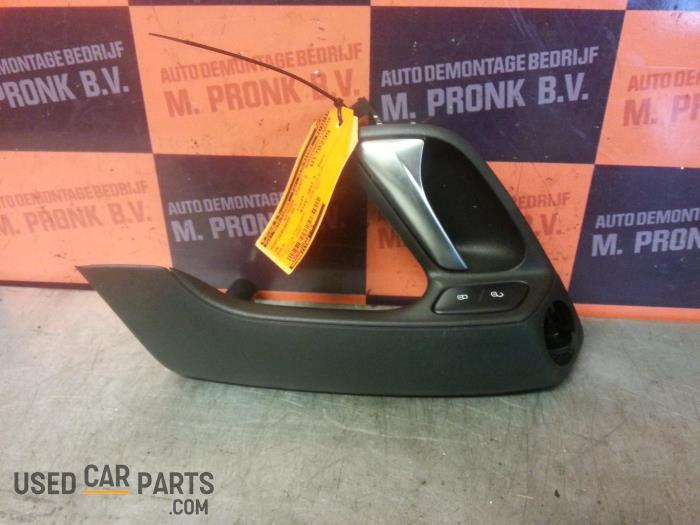 Door handle 2-door, left - Volkswagen Polo - O22604