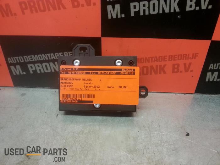 Brandstofpomp relais - Mercedes E-Klasse - O42743