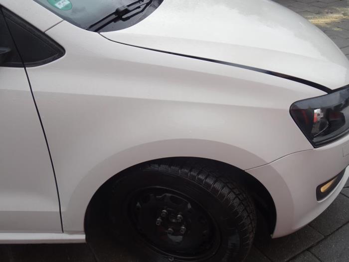 Gebruikte Volkswagen Polo Scherm Rechts Voor Kleurcode Lb9a