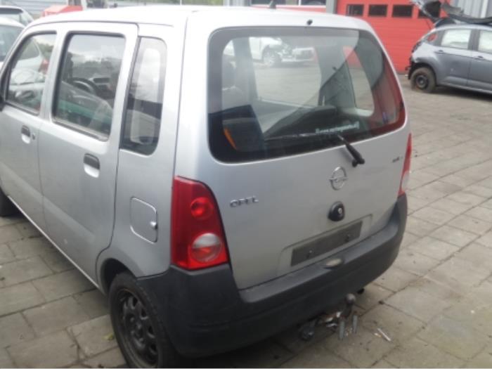 Gebruikte Opel Agila A 1 0 12v Achterklep Kleurcode Z157 9201072