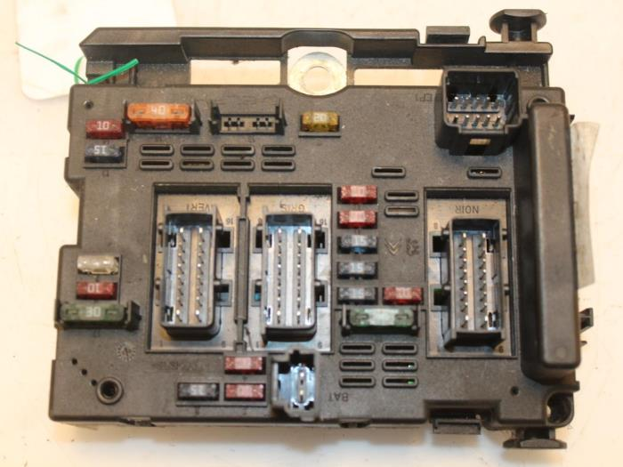 Fuse Box On A Peugeot 206 Wiring Diagram