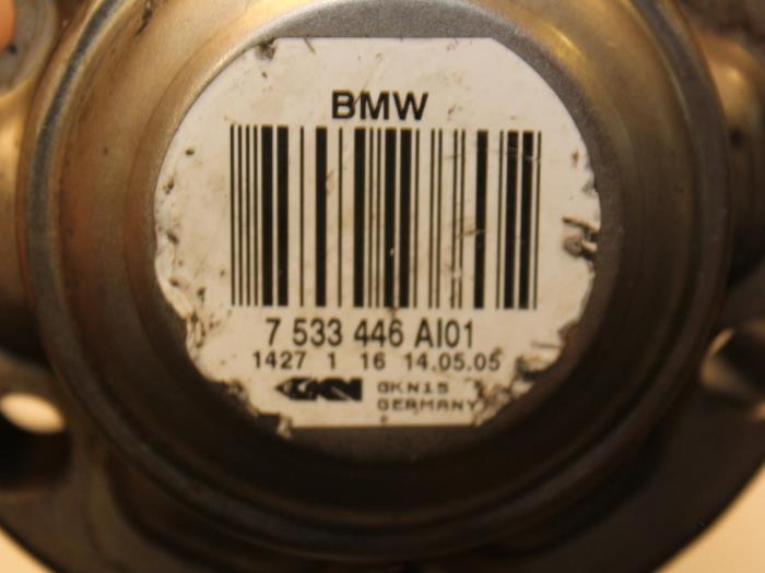 Aandrijfas links-achter BMW 3-Serie 33217533446, 7533446 5