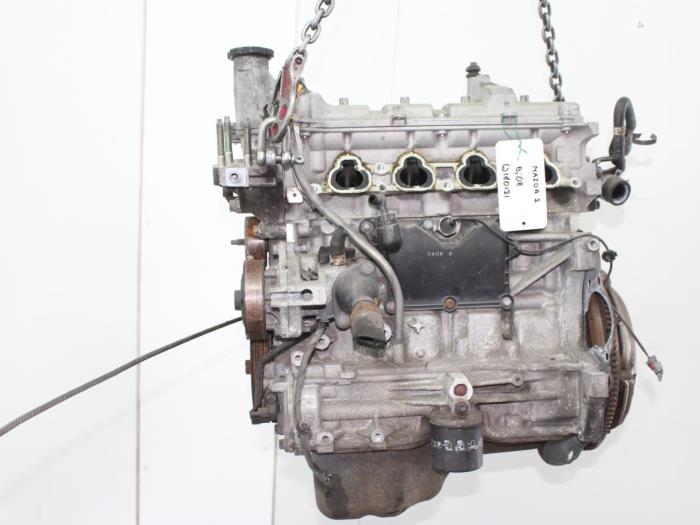 Motor Mazda 2.  ZJ 4