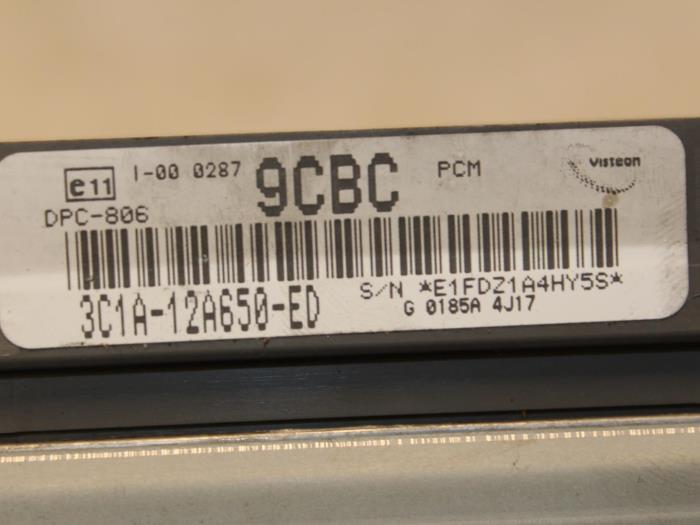 Steuergerät Motormanagement für Ford Transit 3C1A12A650ED