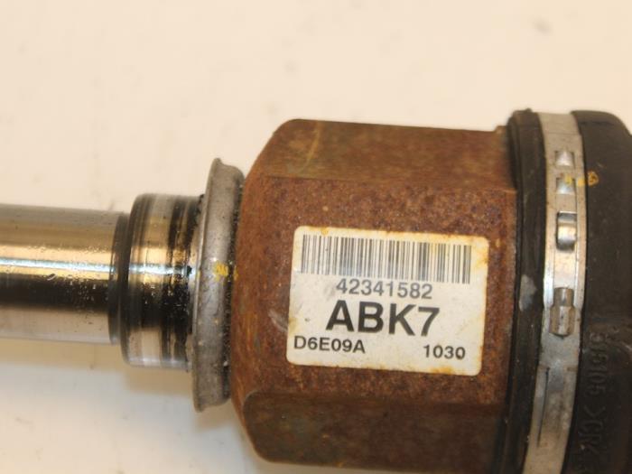 Aandrijfas links-voor Opel Karl 42341582 5