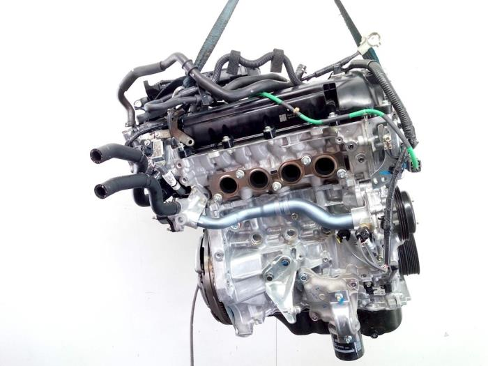Motor Mazda 2. P540491397, P54G10210A, PE2718G00, PYFA1516ZA, P54G10382 P5,P540491397 5