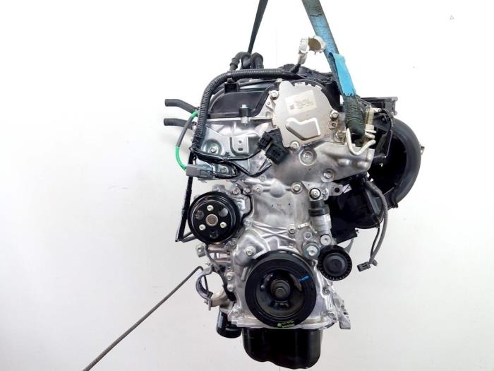 Motor Mazda 2. P540491397, P54G10210A, PE2718G00, PYFA1516ZA, P54G10382 P5,P540491397 4