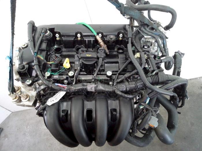 Motor Mazda 2. P540491397, P54G10210A, PE2718G00, PYFA1516ZA, P54G10382 P5,P540491397 7