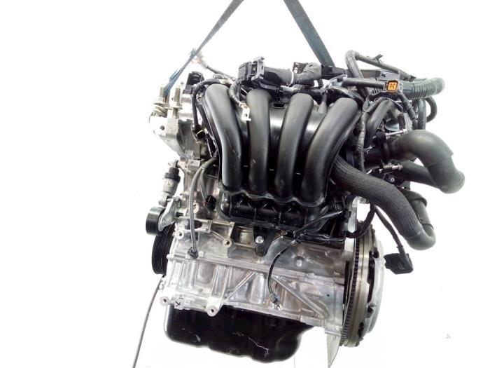 Motor Mazda 2. P540491397, P54G10210A, PE2718G00, PYFA1516ZA, P54G10382 P5,P540491397 3