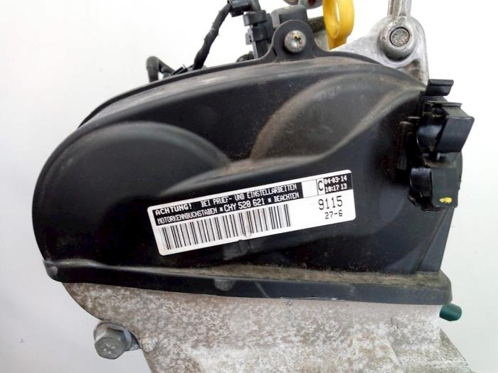 Motor Volkswagen UP CHY528621, 04E103464M, 04C103475D, 04C103011F, 04C103023 CHY,CHY528621 6