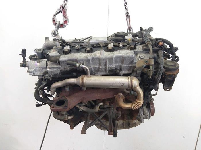 Motor Toyota Avensis  4