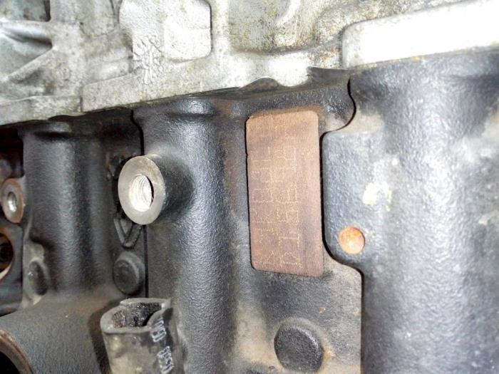 Motor Renault Kangoo  D156982,K9KB802 7