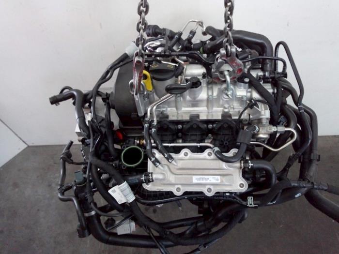 Motor Volkswagen T-Cross 04C145749A, 04C105266F, 04C103475Q, 04C103011T DKRA,DKR201517 7
