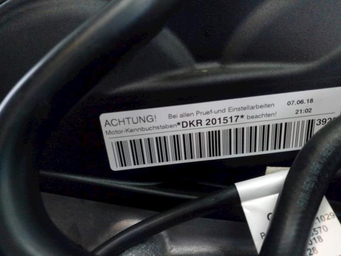 Motor Volkswagen T-Cross 04C145749A, 04C105266F, 04C103475Q, 04C103011T DKRA,DKR201517 6