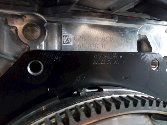 Motor Volkswagen T-Cross 04C145749A, 04C105266F, 04C103475Q, 04C103011T DKRA,DKR201517 12