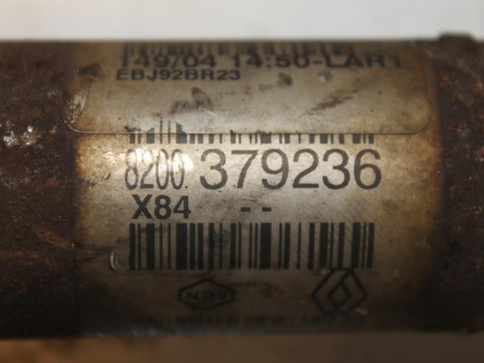 Aandrijfas links-voor Renault Megane 8200379236 3