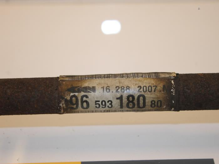 Aandrijfas links-voor Peugeot 207 9659318080 3