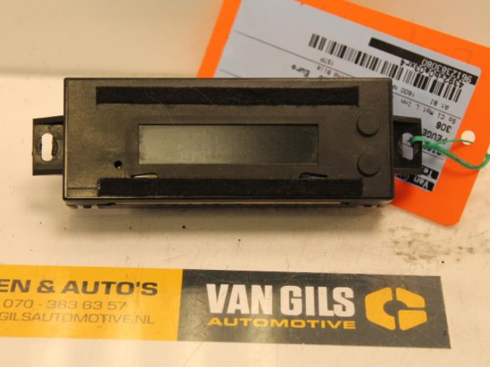 Display interieur peugeot 306 van gils automotive for Interieur 306 annee 2000