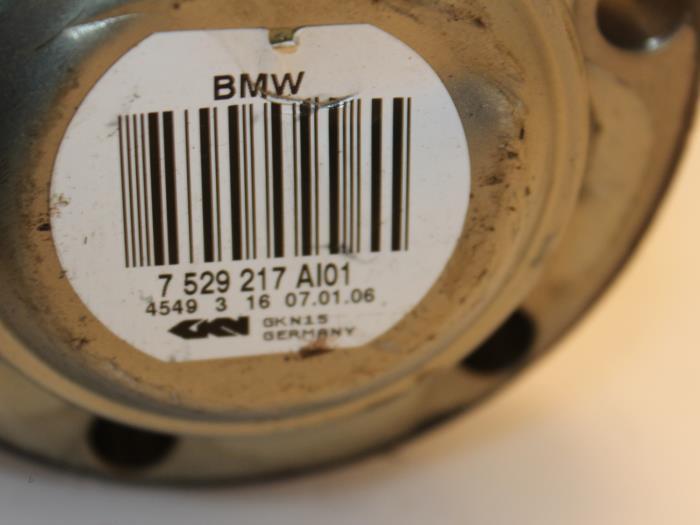 Aandrijfas links-achter BMW 5-Serie 33207529217, 7529217 5