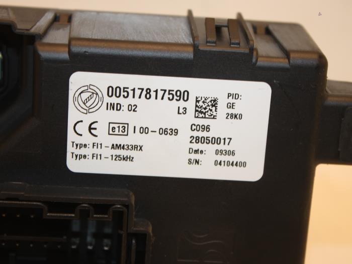 fuse box for fiat punto grande 517817590 vangilsautodemontage nl DPF Fiat Grande Punto